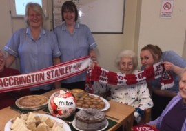 Accrington Stanley Donate Food