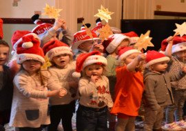 Nursery Children Sing Christmas Carols