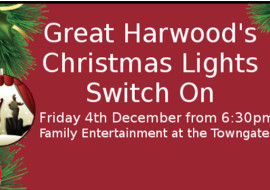 Great Harwood – Christmas Lights Switch On