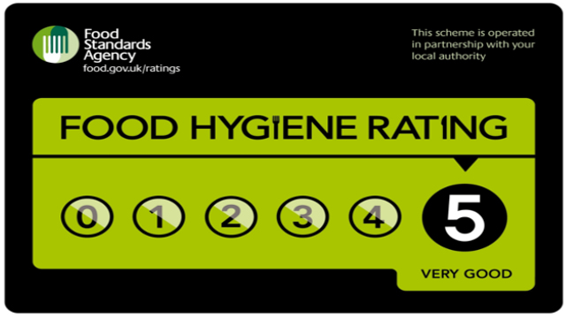Top marks for food hygiene