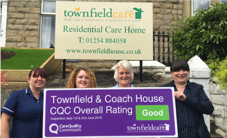Townfield & Coach House Rated Good by CQC