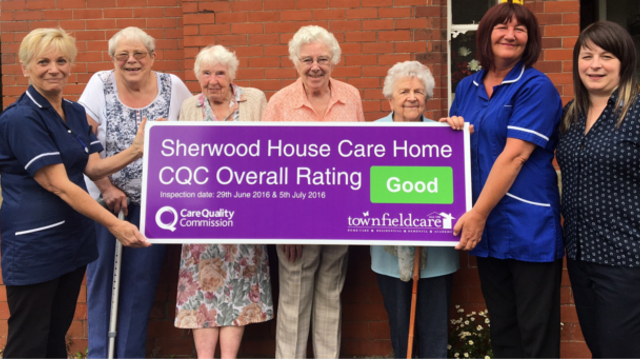 Sherwood House Rated Good by CQC