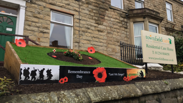 Remembrance Garden Display