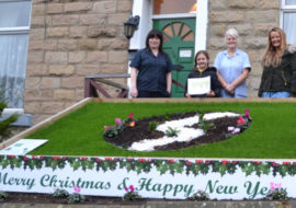Christmas Garden Competition Winner