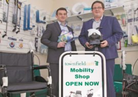 Townfield Mobility Shop Launch