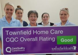 Townfield Home Care Rated Good by CQC